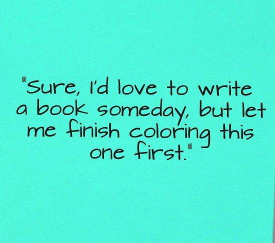 I'd love to write