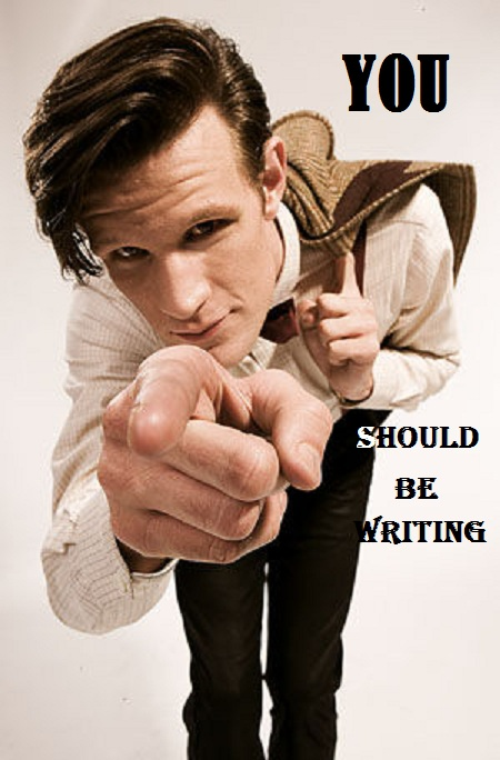 Matt Smith writing