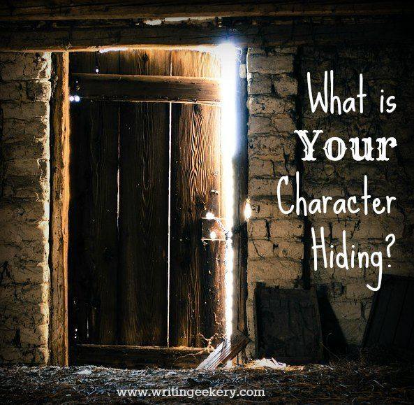 What is your character hiding?