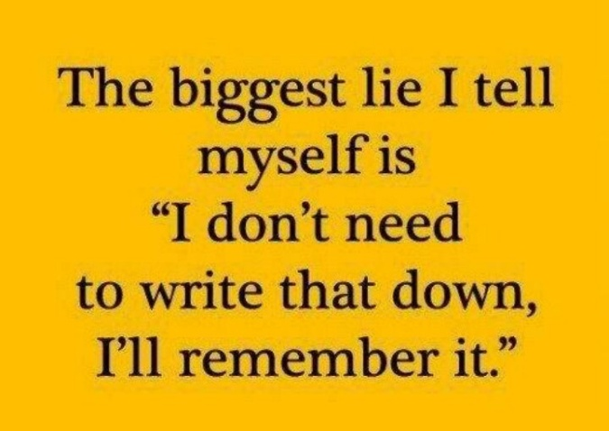 Biggest lie