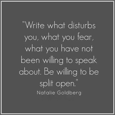Be a willing writer