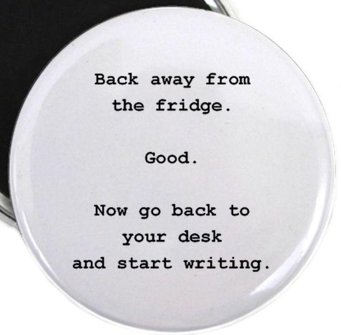 Frige vs writing