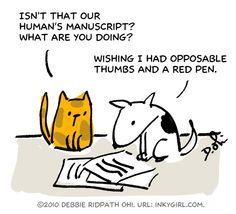Editor dog